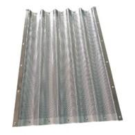Лист пекарский для багет 5 волн алюминий толщ.1мм 600X400X43