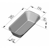 Хлебная форма для расстойки 285х135х65