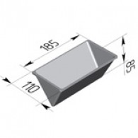 Форма для хлеба Треугольная 185х110х85