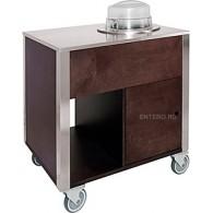 Прилавок для подогрева тарелок Metalcarrelli 6900.A16W