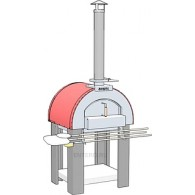 Печь для пиццы дровяная Vesta 2