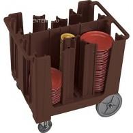 Тележка для тарелок Cambro ADCS 131 темно-коричневая