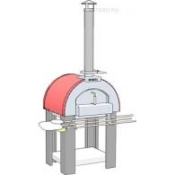 Печь для пиццы дровяная Vesta 4