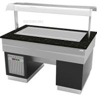 Прилавок с охлаждаемой поверхностью Gastrolux ПО-1610/ПН/SI
