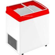 Ларь морозильный Frostor F 200 E красный